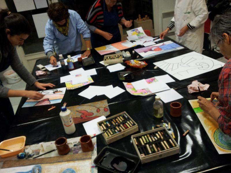 Les ateliers adultes de l'Esthète de l'Art