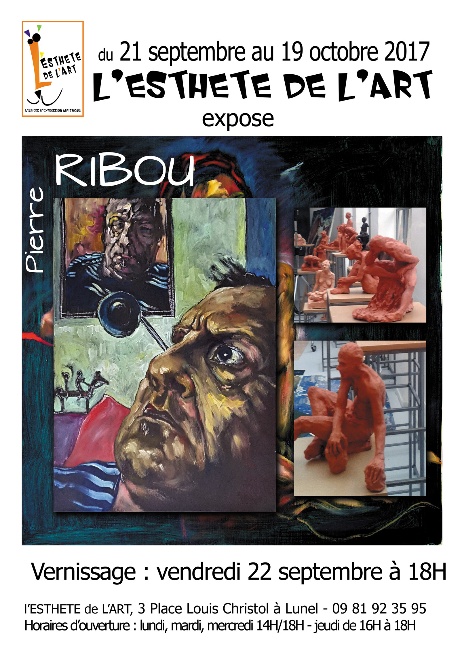 EXPOSITION PIERRE RIBOU