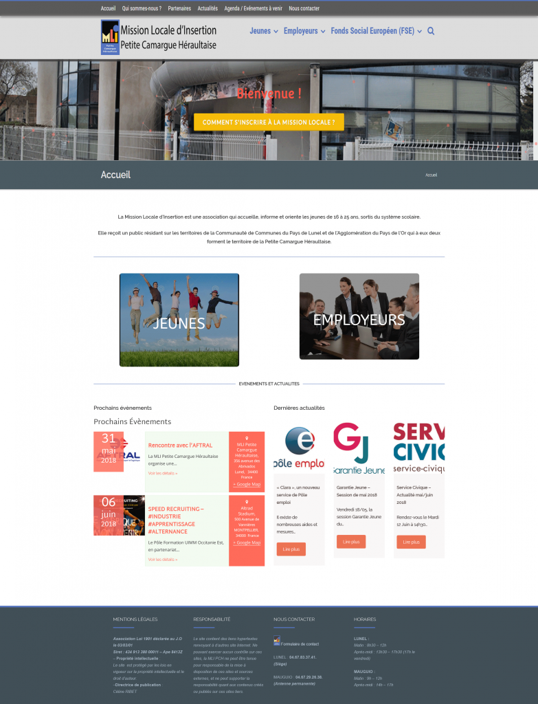 Site Wordpress Mli-Pch